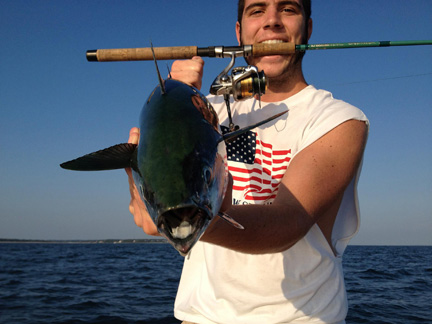 cape cod and buzzards bay fishing report 9-13-2012, Fishing Bait