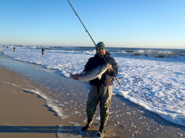 Island Beach State Park New Jersey Fishing Report 11 23 2017 On The Water