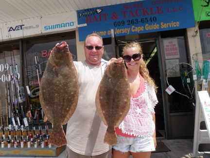 Southern central new jersey fishing report 8 23 2012 for Charley s fishing supply