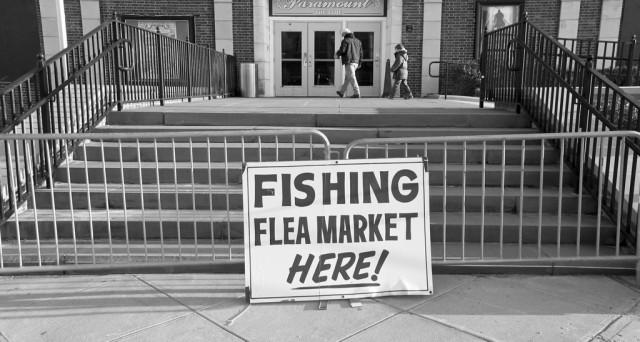 March flea markets for Fishing flea market nj