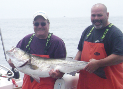 Cape cod and buzzards bay fishing forecast 8 4 2011 for Buzzards bay fishing report