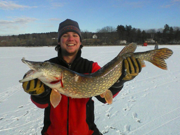 ChadPorterMA Massachusetts, New Hampshire and Maine Fishing Report 1 12 2012