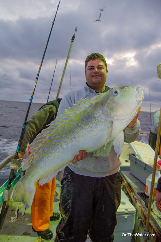 Alan Maleh from Brooklyn won the pool with this 25-pound tilefish, caught during the last 5 minutes of the trip.