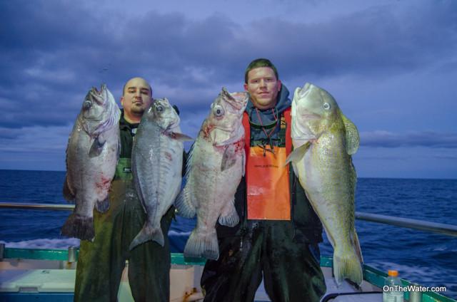 The boat caught a mixed bag of tilefish, barrelfish, wreckfish and hake.