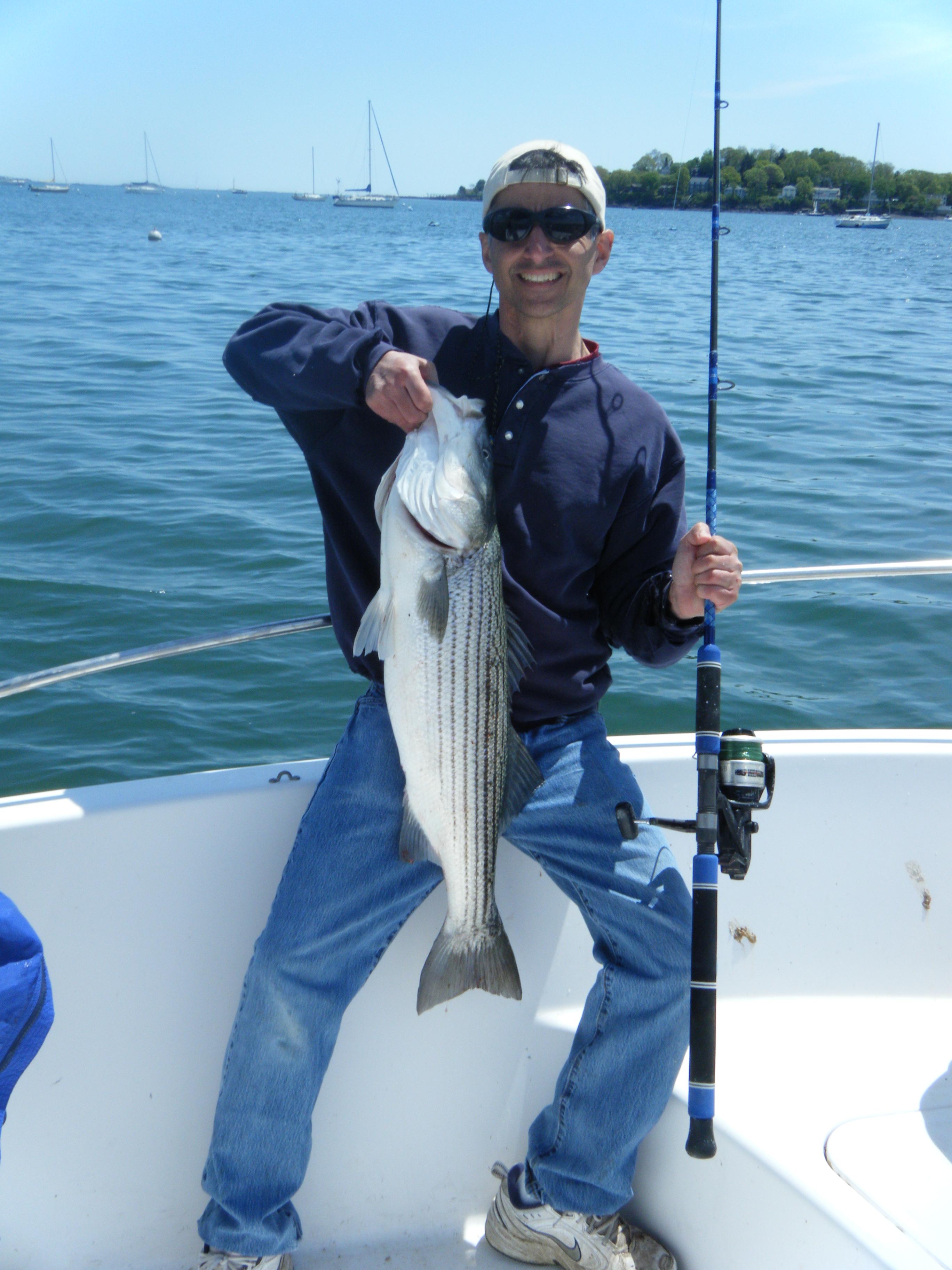 Massachusetts new hampshire and maine fishing report 5 for Mass fishing report