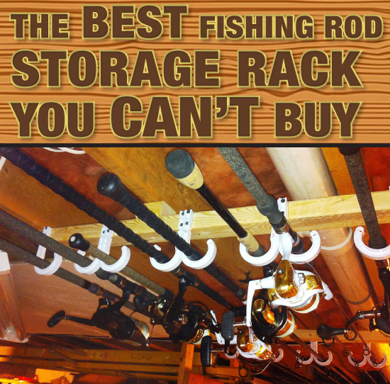 The Best Fishing Rod Storage Rack You Canu2019t Buy - On The Water