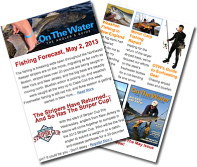 OTWnewsletter Fishing Forecast