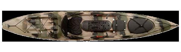 2014 Ocean Kayak Trident 13 Angler