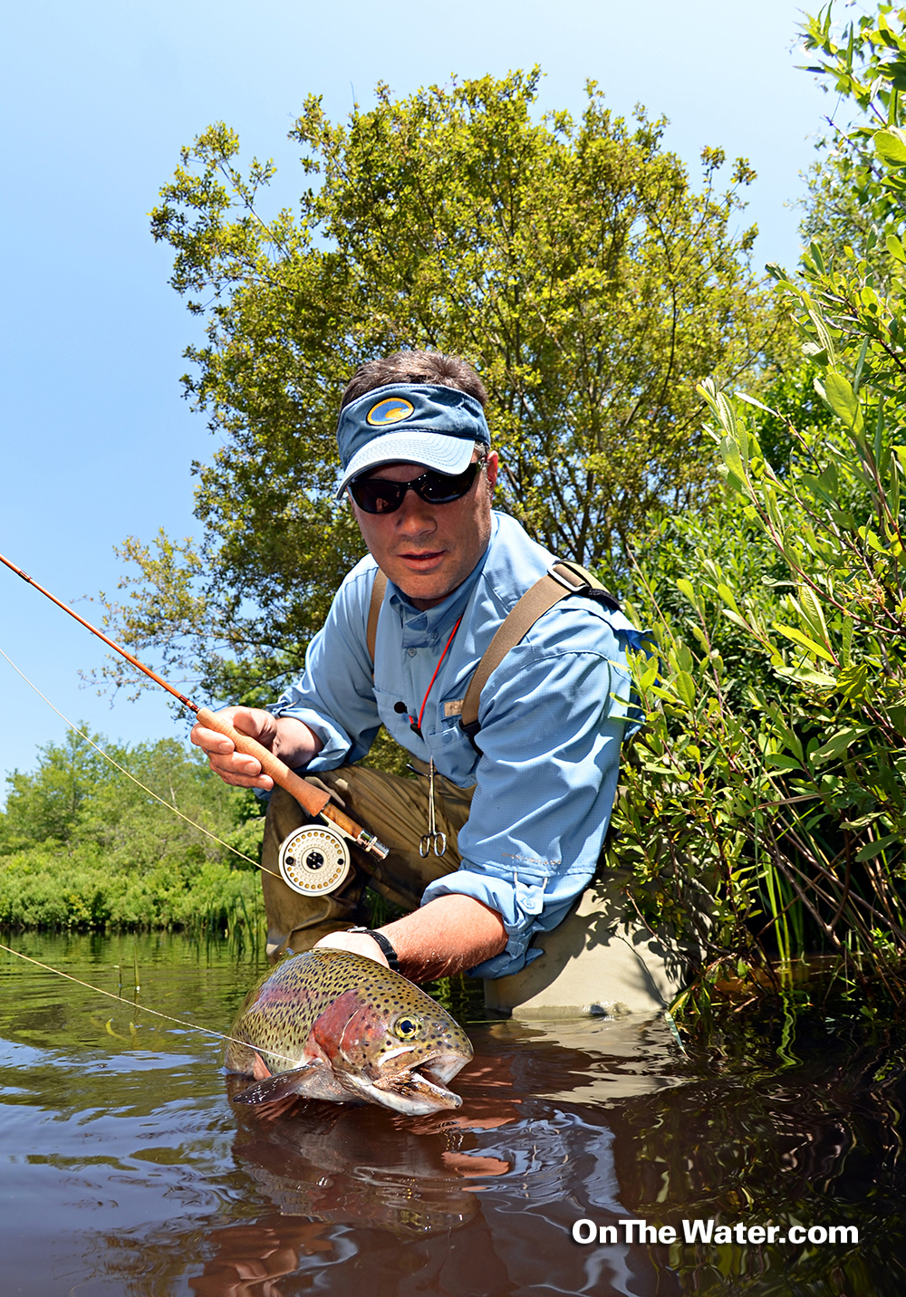 A day at the chiltonville fly fishing club for Fly fishing clubs