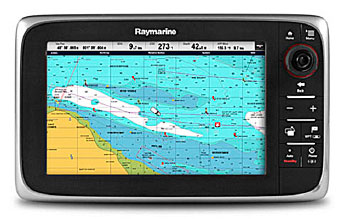 Chartplotters not only give you a way to view electronic charts, they use GPS to allow you to track your exact location and where you've been.