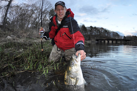 New jersey fishing report 3 28 2013 for Nj fishing reports freshwater