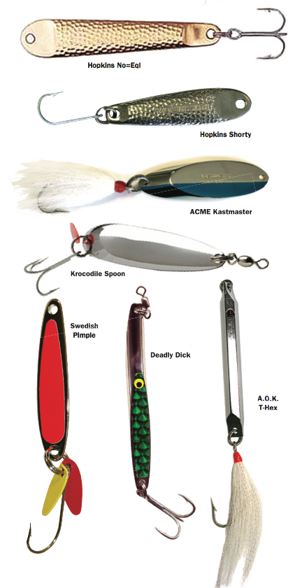A guide to fishing with metal lures for Rigged fishing backpack
