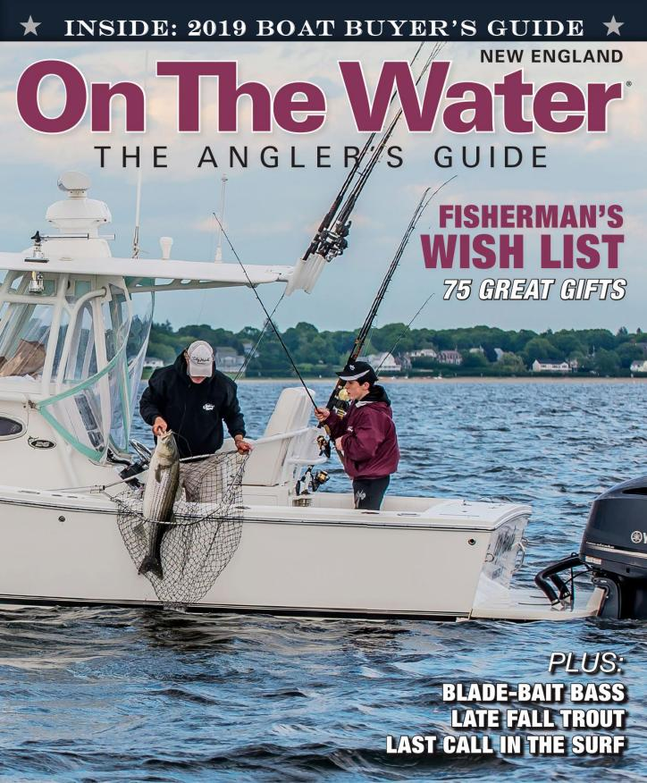 14c22758 On The Water Magazine - The Anglers Guide
