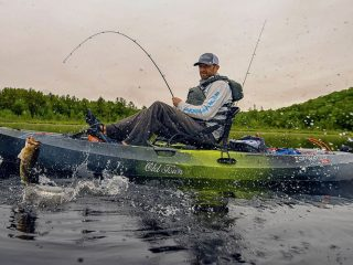 Old Town Topwater PDL fishing kayak