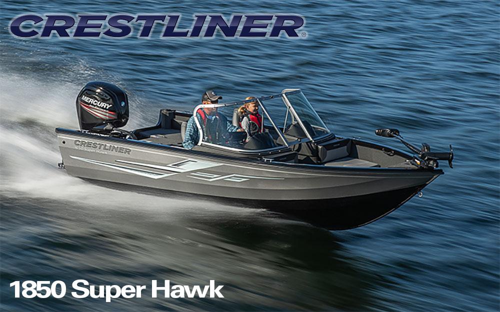 2021 Crestliner 1850 Super Hawk