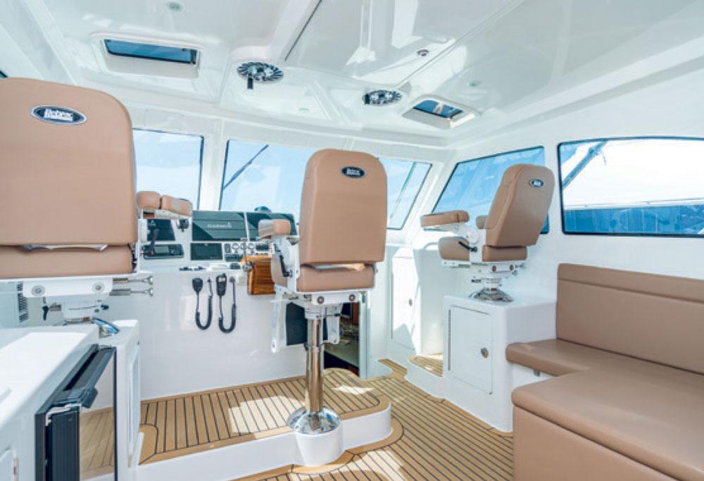 Henriques 42 Express HT cockpit