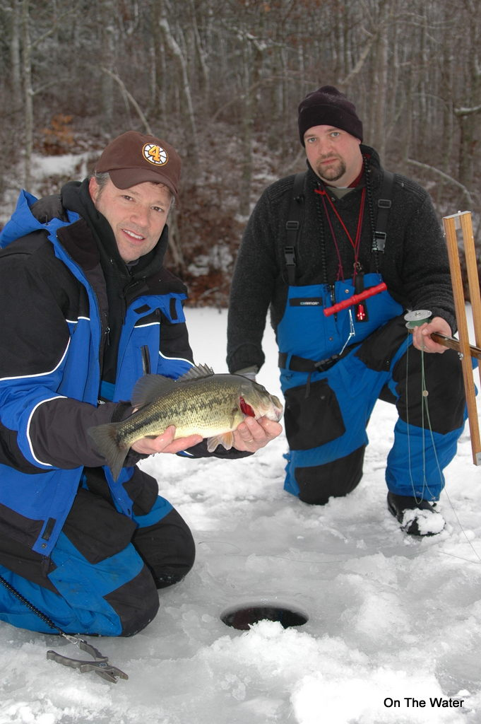 Ice fishing safety for Ct saltwater fishing license