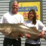 56-Pound Striper Longer Than World Record