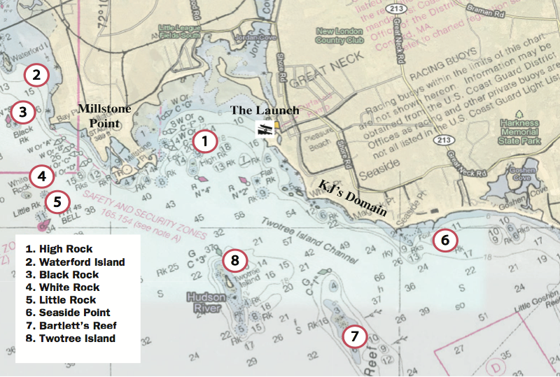 Kayak Anglers Guide To Fishing Waterford Ct