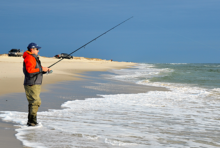 Island beach state park jersey shore stripers on the water for Nj shore fishing