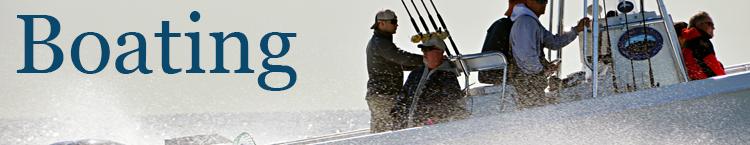 Boating banner