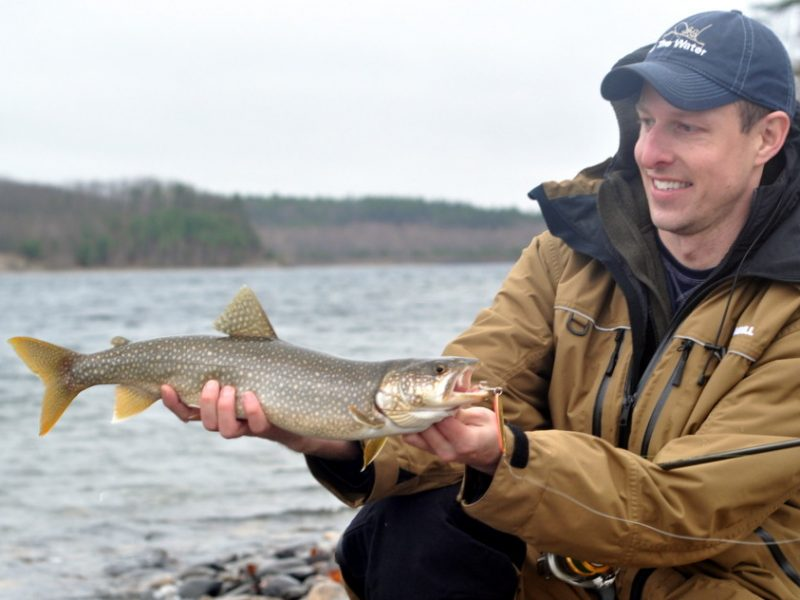 Sweetwater surfcasting wachusett reservoir lake trout report for Long island surf fishing report