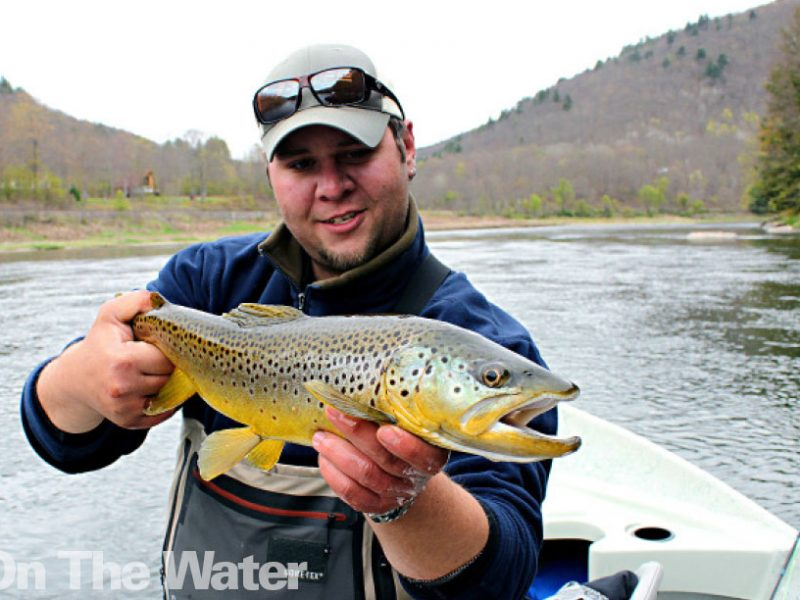71933d02666 Spring Trout Fishing on the Upper Delaware River