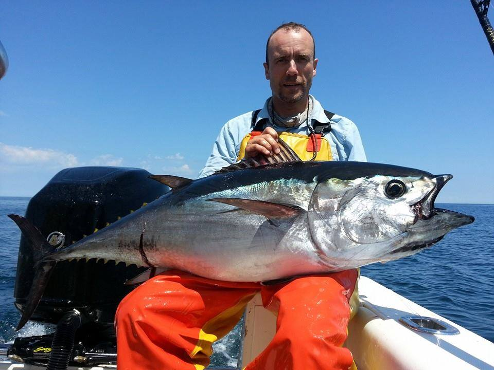 Offshore report july 13 2014 riptide charters on for Tuna fishing nj