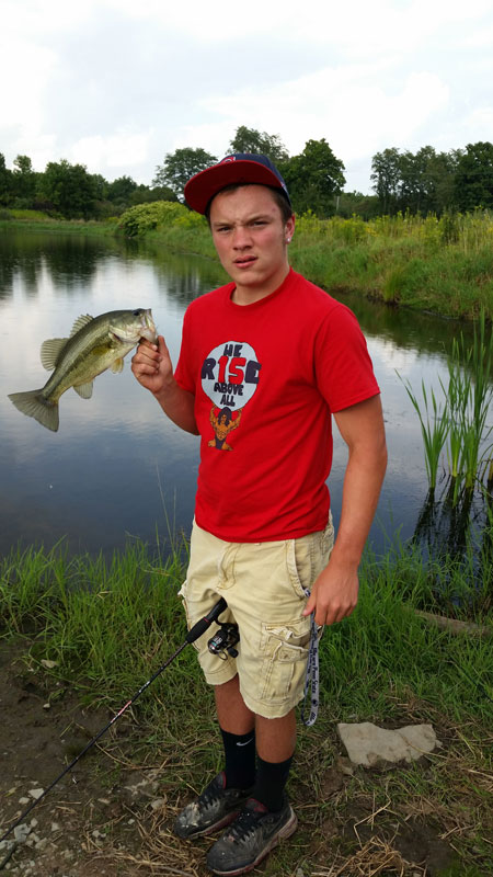 Northern pennsylvania fishing report 8 28 14 on the water for Pa fishing report