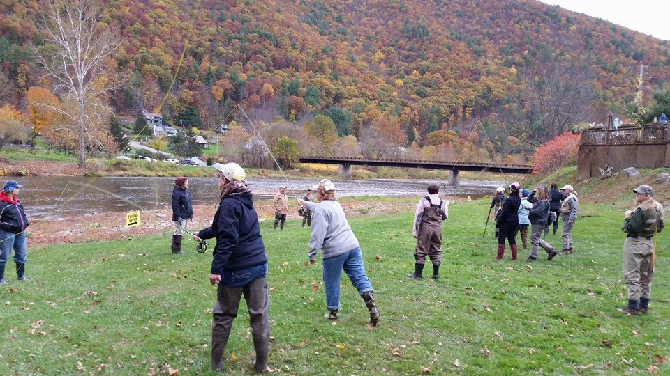 Northern pennsylvania fishing report october 23 2014 for Fly fishing pa