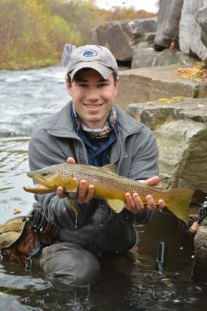 Northern pennsylvania fishing report october 30 2014 for Pa fish records