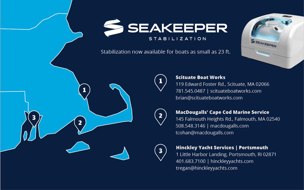 SeaKeeper locations