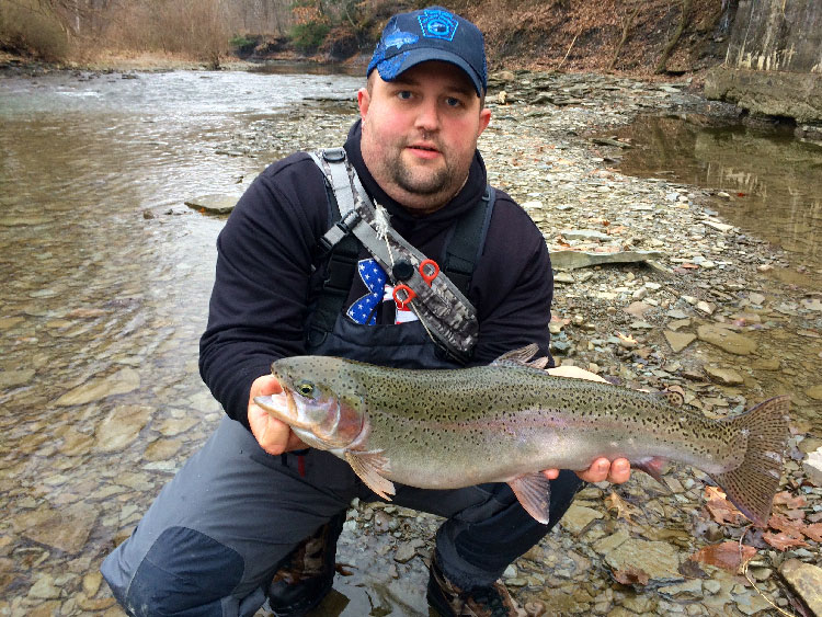 Northern pennsylvania fishing report december 11 2014 for Trout fishing pa