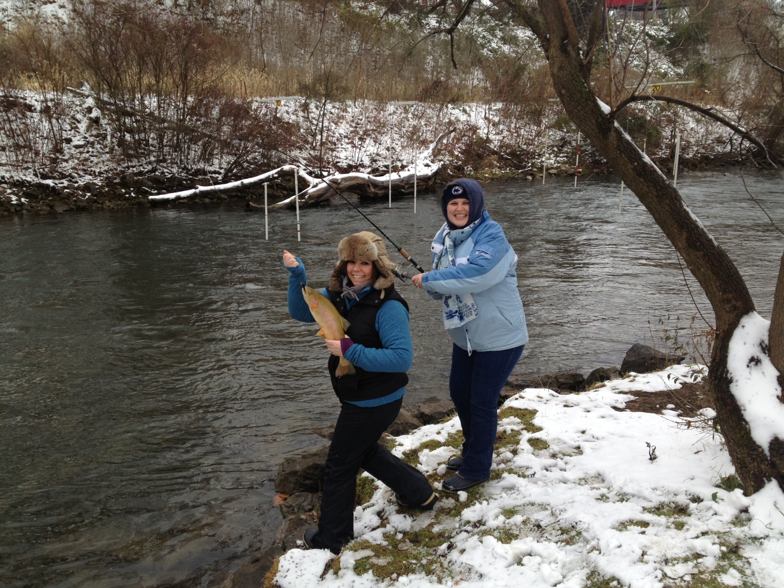 Northern pennsylvania fishing report december 18 2014 for Trout fishing pa