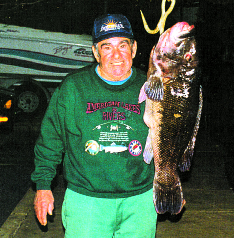 Anthony Monica's 25-pound tautog, caught out of Ocean City, New Jersey, was considered by many to be an unbreakable record.