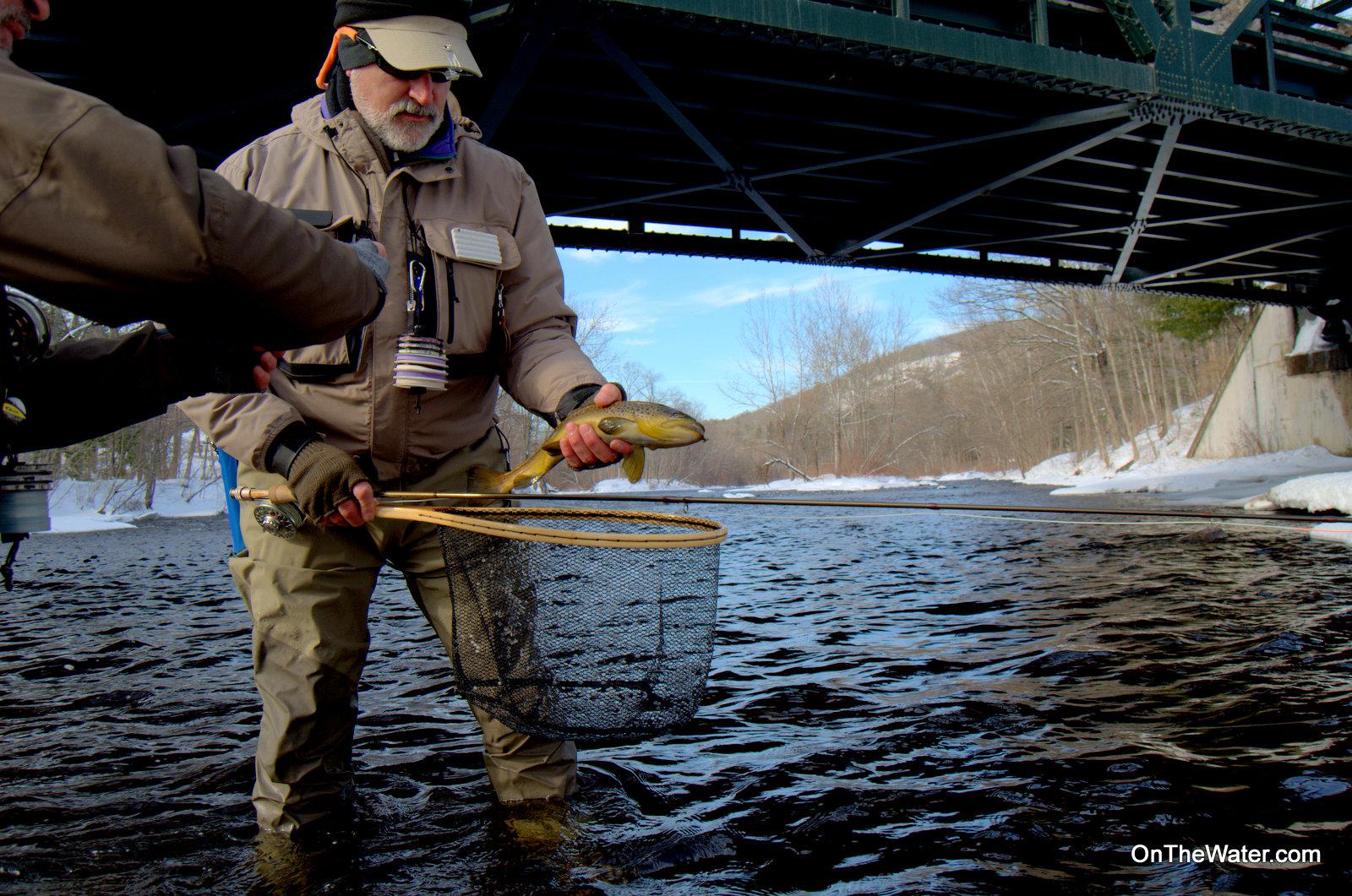 Fishing vs catching on the farmington on the water for Farmington river fishing