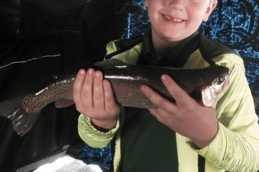 Christian Hazelton of Wellsboro, PA recently had a great day out on Hamilton Lake!