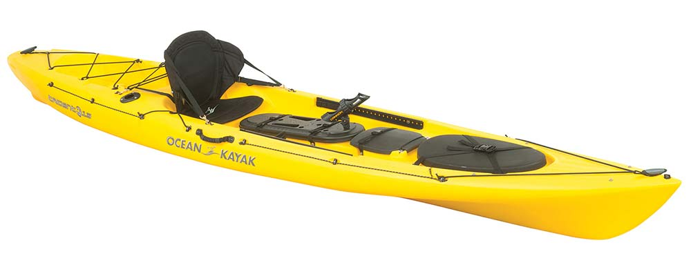 2015 fishing kayak and canoe buyer s guide on the water for Ocean kayak fishing