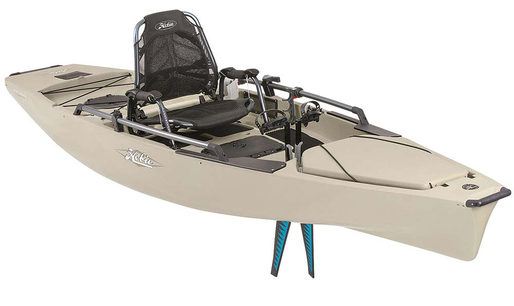 2015 fishing kayak and canoe buyer s guide on the water for Fishing kayak with foot pedals