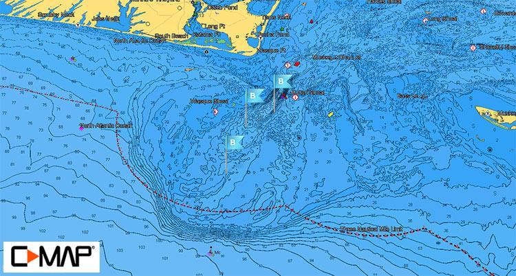 Hooter Bathymetric Map