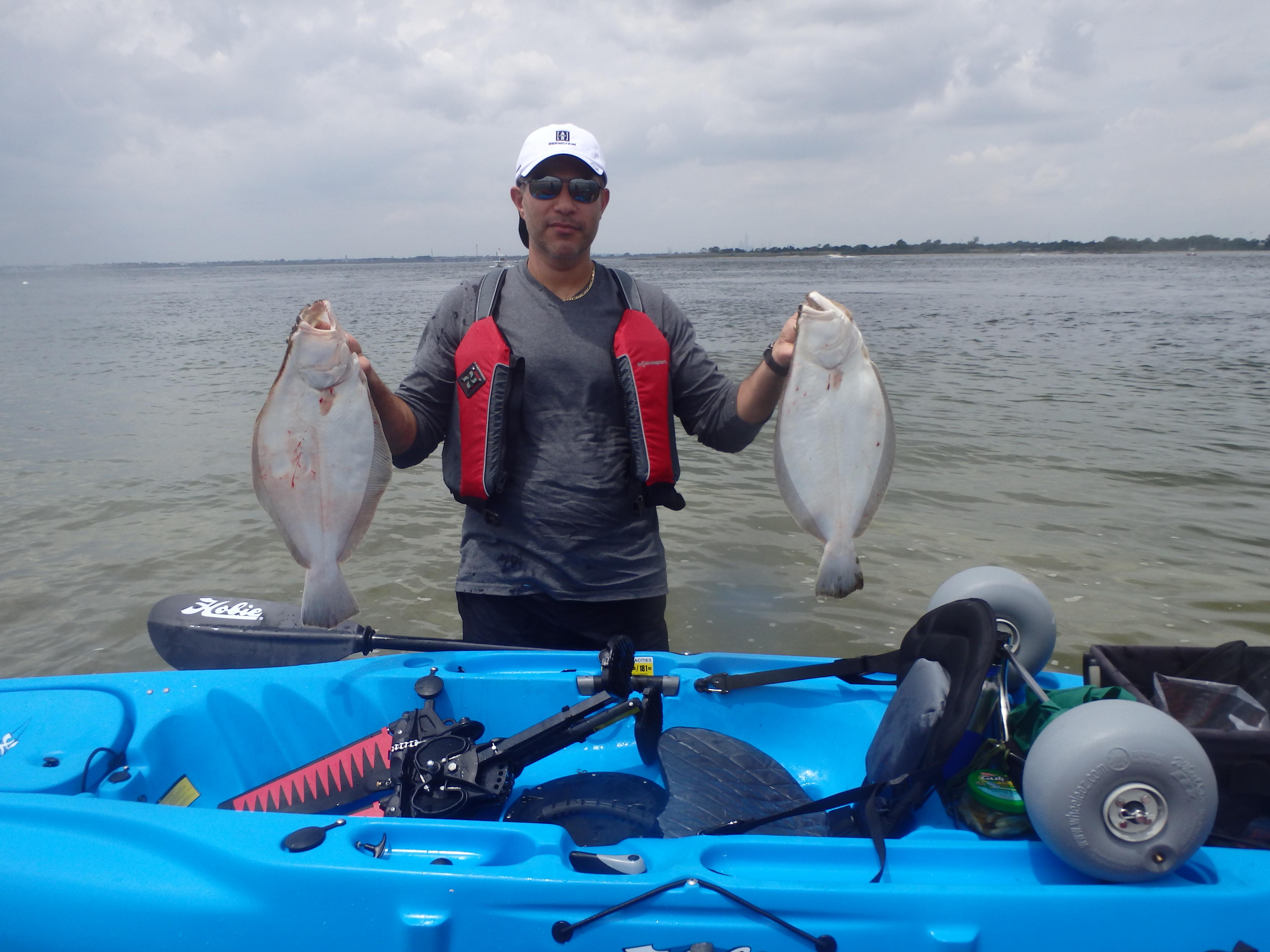 Ny metro li sound kayak fishing report june 23 2015 for Long island sound fishing report