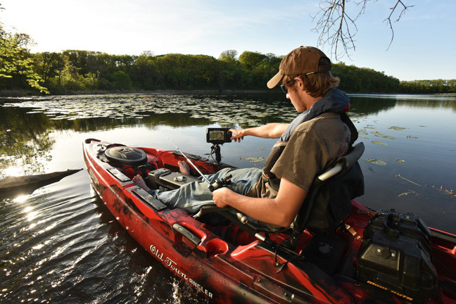 Kayak evolution the 39 ultimate fishing machine 39 on the water for Best bass fishing kayak