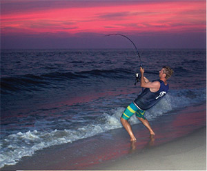 Shore-Based Sharking - On The Water