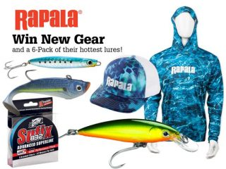 Win A Rapala Gear and Lure Package!