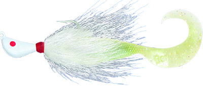 Bucktail With Twister Tail