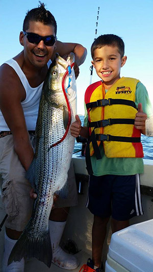 Fishing ct report september 3 2015 on the water for Ct saltwater fishing report