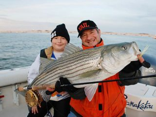 The fall run is the best time of the year to fool a striper on the fly rod.