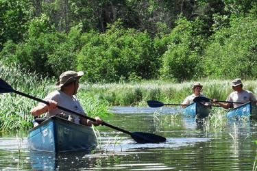 Veterans Canoeing