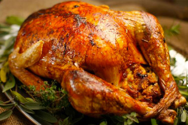 Cape Cod Stuffed Turkey