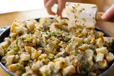 Thanksgiving Oyster Stuffing